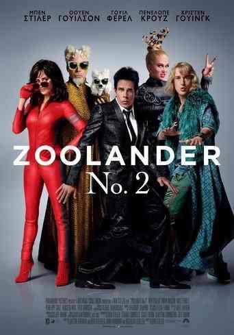 Poster of Zoolander Νο. 2